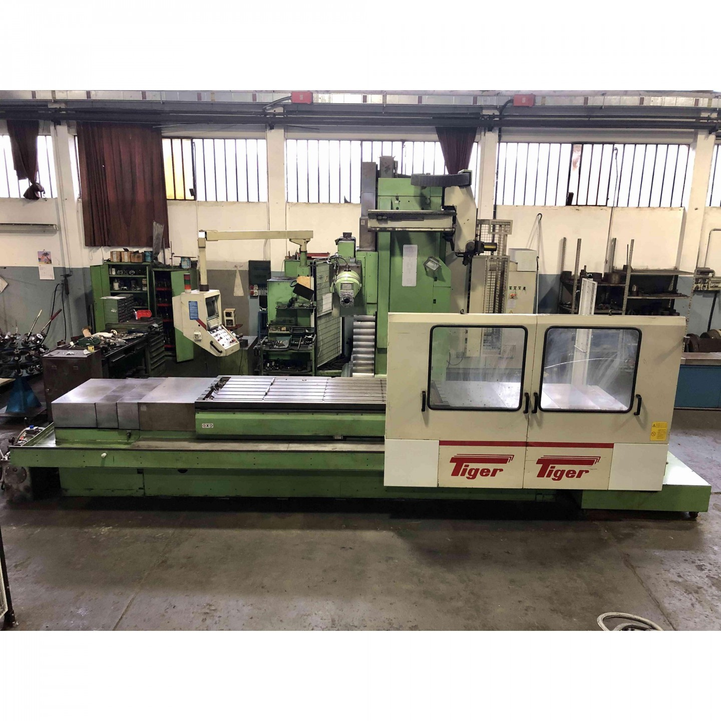 TIGER TMT 6 - BED TYPE MILLING MACHINES - 1
