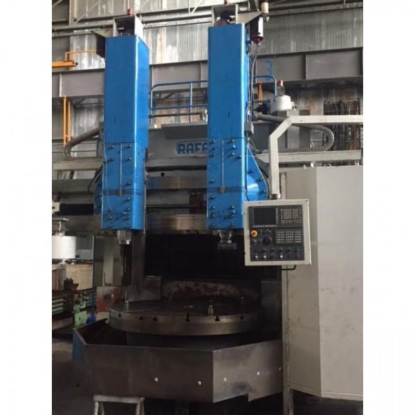 RAFAMET RAFAMAT KCF 200 CNC - 2 RAM - 4 axis - VERTICAL LATHES / VTL