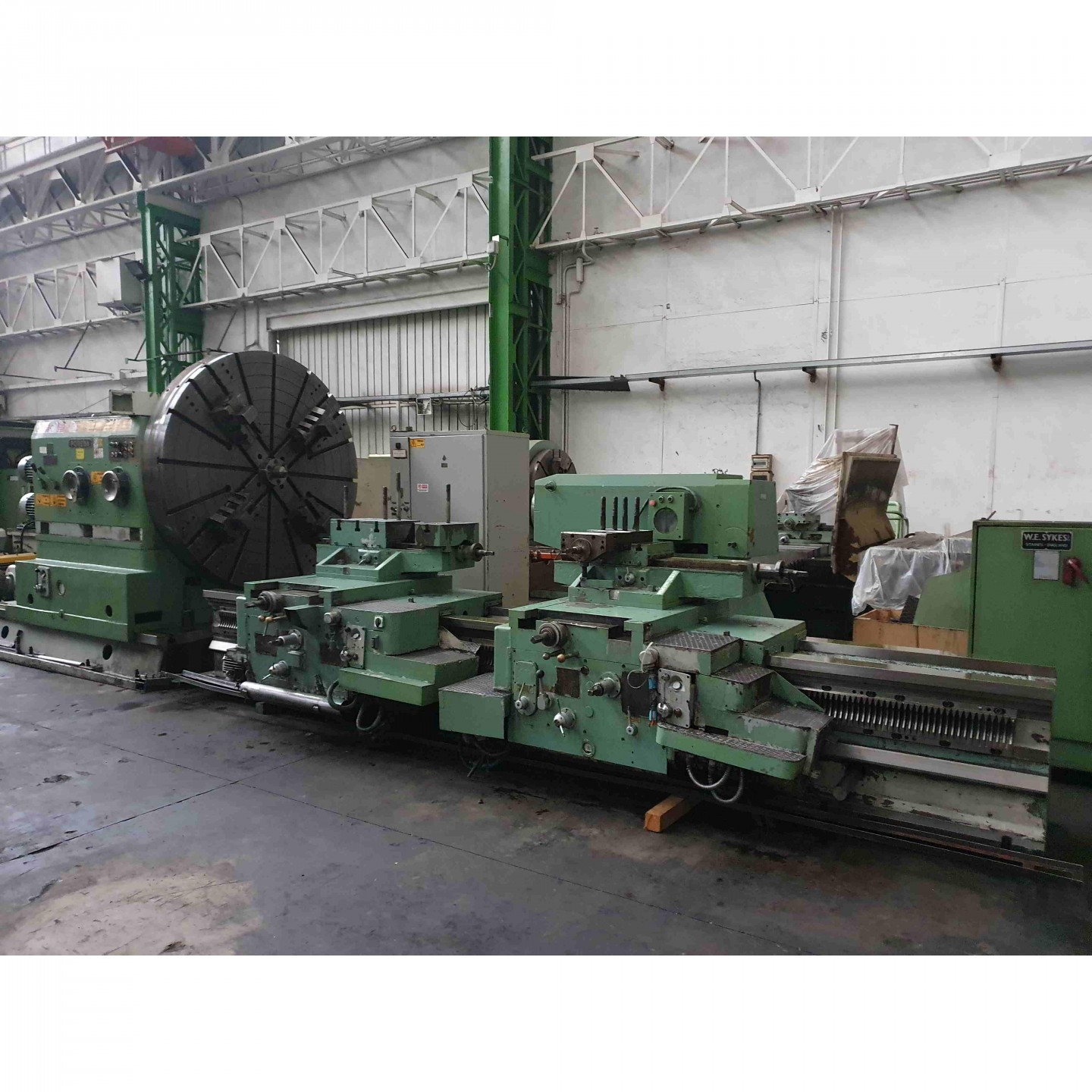 POREBA TZB 250 B - FACING LATHE