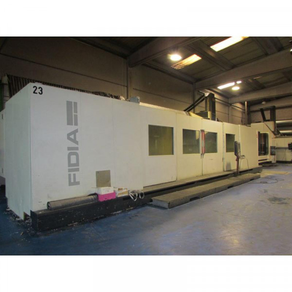 FIDIA K 911 - 5 AXIS ( 2007 ) - FLOOR TYPE MILLING MACHINE
