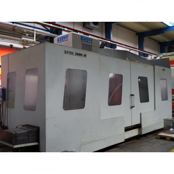 ZAYER KFCU 3000 AV - BED TYPE MILLING MACHINES