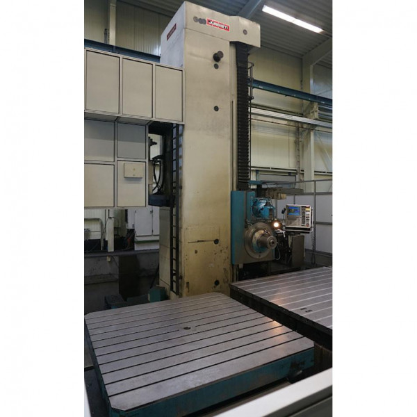JUARISTI MP 150 boring machine with ram for milling - FLOOR TYPE BORER