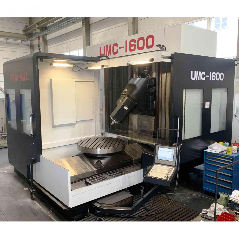 EUMACH UMC-1600 - 5 AXIS - YEAR 2013 - MACHINING CENTER
