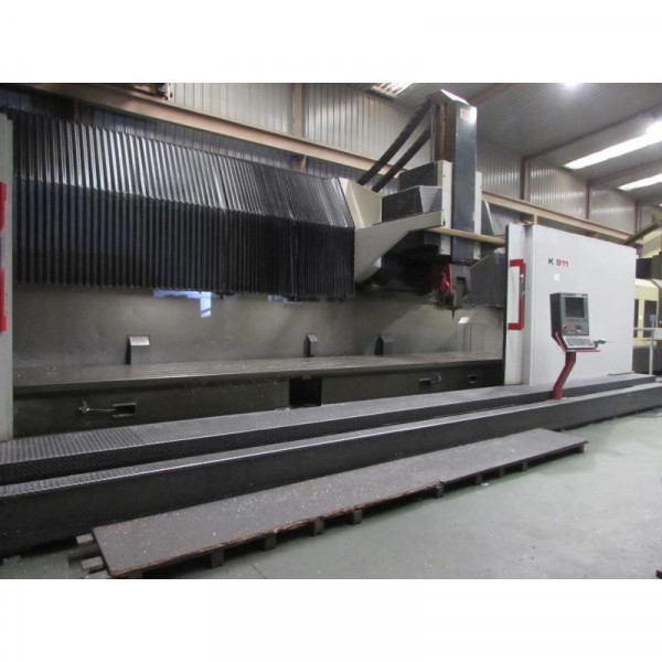 FIDIA K 911- 5 axis - ( 2009) - FLOOR TYPE MILLING MACHINE