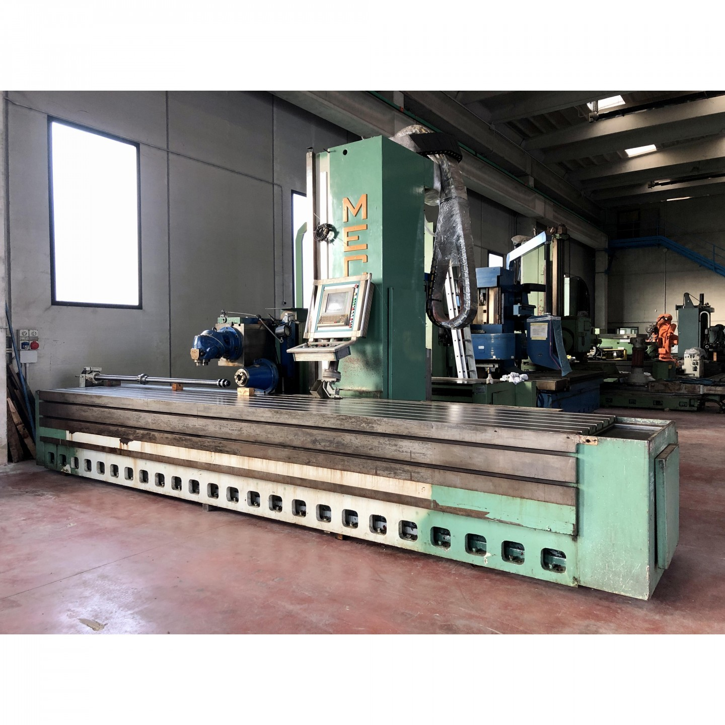 MECOF CS 105 G - CNC SELCA AUTOMATIC HEAD - FLOOR TYPE MILLING MACHINE