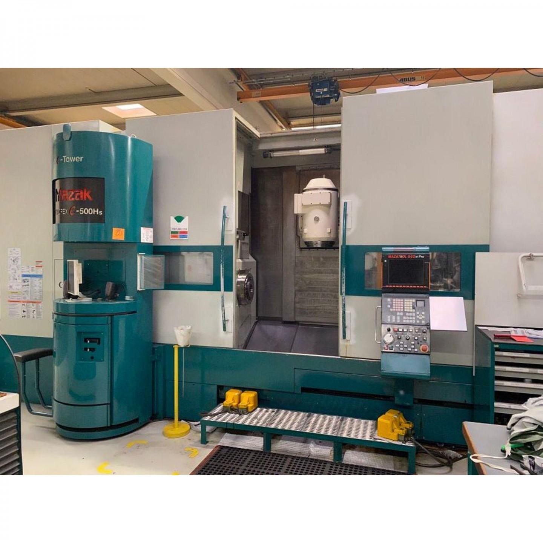 MAZAK INTEGREX E 500 HS - TOURS CNC