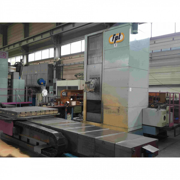 FPT AREA T 10 - BED TYPE MILLING MACHINES