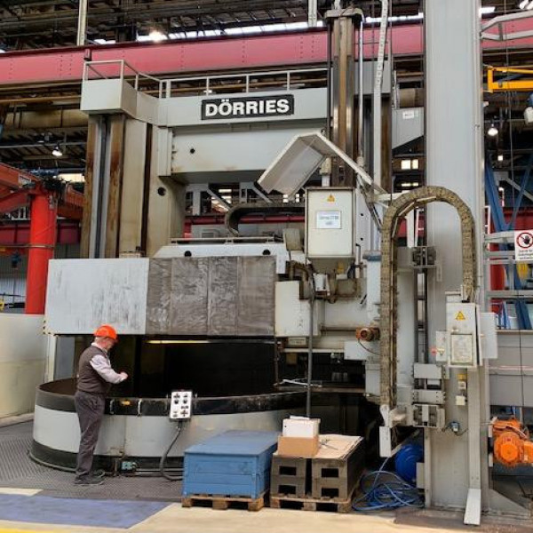 DORRIES CT 360 SO CNC - VERTICAL LATHES / VTL DORRIES - 1